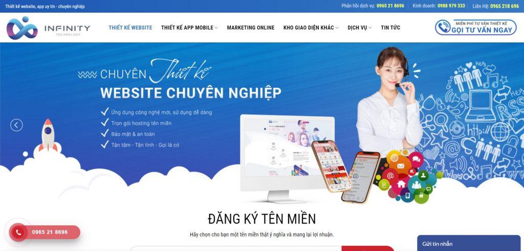 Thiết kế web Hải Phòng uy tín giá rẻ